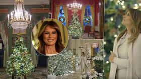 Vánoce podle Melanie Trumpové? Duch Ameriky!