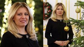 Čaputová exkluzivně pro Blesk: O Vánocích, pečení s dcerami a Popelce