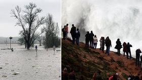 """Tragický víkend v Evropě: Povodně a """"ledová královna"""" usmrtily 11 osob"""