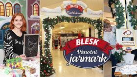 Takový byl Vánoční jarmark Blesku: 24 dní, 105 prodejců, tisíce návštěvníků!