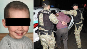 Malého Martínka (4) prý brutálně zbil jeho otec! Počkej, až mě pustí, píše jeho mámě