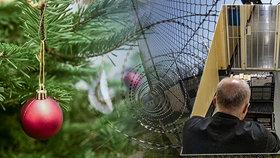 """""""Na Vánoce se snažíme zapomenout,"""" říká Zdeněk (51). V ruzyňské věznici si odpykává několikaletý trest"""