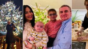 """Vánoce u politiků: Alex se syny, Čaputová u plotny a Šlechtová s """"Rambohafíkem"""""""