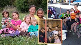 Zuzka odešla od násilnického manžela: Teď nemá s pěti dětmi kde bydlet