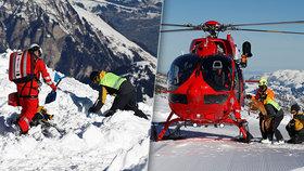 Vánoční zázrak: Turista (26) přežil pět hodin pod lavinou. Záchranáři zírali