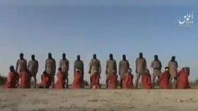 """""""Vzkaz pro všechny křesťany."""" Islamisté natočili popravu 11 osob, mstí se za Bagdádího"""