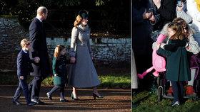 Tajná akce prince Williama před vánoční mší: Co vše musela Charlotte zvládnout?
