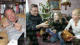 Utajené fotky ze soukromí Karla Gotta! Jak a s kým trávil Vánoce?