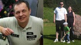 Policistu Ivana zabila před Vánoci rakovina: Pomozte vdově se synem, vyzvali kolegové
