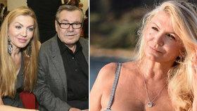 Vdova po režiséru Formanovi (✝86) Martina (53) tasila obří dekolt! Prý zahání smutek