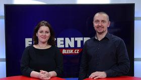 Vysílali jsme: Ministryně Maláčová v Blesku o eNeschopence, důchodech a minimální mzdě