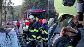 Míša si zabouchla miminko v autě: Dojemné poděkování hasičům!
