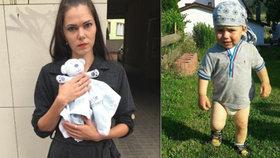 Jakoubek (†2) se z nemocnice živý nevrátil: Jeho mamince Dáše nikdy neřekli proč