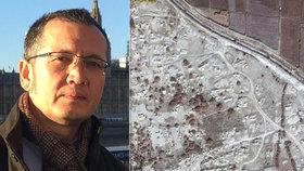 Básník nesmí zavolat matce a neví, kde má ostatky otce. Čína ničí hřbitovy Ujgurů