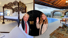 """Premiér s milenkou si užívají luxusu v Karibiku. Jejich vila stojí přes půl """"mega"""" týdně"""