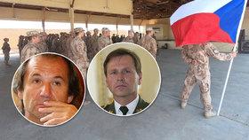 Českým vojákům v Iráku hrozí útok, varuje expert. Generál promluvil o třetí světové válce