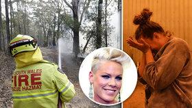 300 milionů za dva dny: Celebrity burcují k pomoci plameny pustošené Austrálii