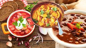 Boršč, guláš i indická korma: Napumpujte je kořením, zahřejí vás!