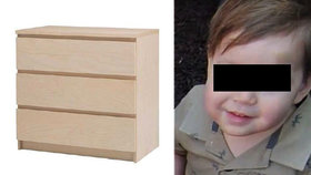 Malého Jozífka (†2) zabila skříň z Ikey! Rodičům vyplatí miliardové odškodné