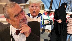 """Zděšený Schwarzenberg: """"Zločinné činy Trumpa."""" Zabití generála tvrdě odsoudil"""