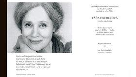 Mrazivé parte Táni Fischerové (†72): Tajemná slova herečky ze záhrobí!