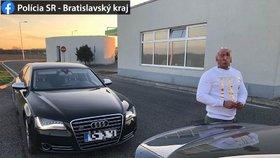 Prvním letošním pirátem silnic na Slovensku je Čech: Po dálnici se řítil rychlostí 213 km/h