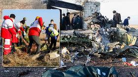Írán předal černé skříňky sestřeleného letadla. 176 lidí zabila lidská chyba