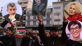 """Češi se z Iráku nestahují, potvrdil Babiš. """"Jsou ve vážném ohrožení,"""" varuje opozice"""
