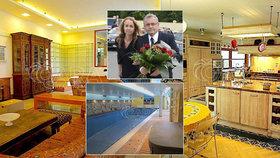 Luxusní vila Dlouhého je na prodej. Šéf Hospodářské komory ČR se nejspíš rozvádí