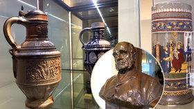 Uměleckoprůmyslové museum vystavuje skvosty ze sbírky Vojtěcha Lanny: Od smrti mecenáše uplynulo 110 let