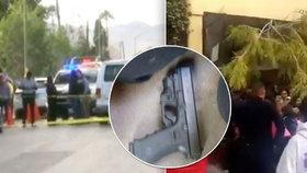 Šílenost na mexické škole: Osmiletý chlapec zastřelil učitele, sedm žáků zranil