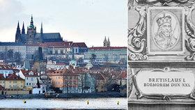 965 let od úmrtí českého Achilla: Břetislav I. vrátil Praze jejího světce a zahájil její opevnění