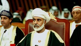 Zemřel mocný ománský sultán: Smrt halí tajnosti. Neměl děti, boj o nástupce