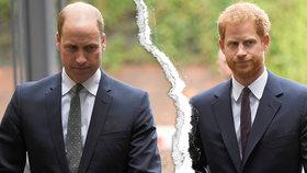 Vzkaz Williama sobeckému bratrovi: Tahle slova Harryho naprosto zdrtí!