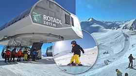 Stubai: Lyžování na králi ledovců si užijí děti, začátečníci i vyznavači adrenalinu