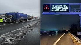 Nová blokáda na českých hranicích kvůli Slovákům: Zuřící dopravci zastavili kamiony