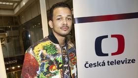 Ben Cristovao ve Studiu Blesku: Co ukáže na Eurovizi?