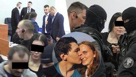 """Kouzlu """"černé vdovy"""" Aleny Zs. už podlehli i bachaři?! Soudkyně jim veřejně vynadala"""