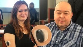 Petr (44) přišel kvůli cukrovce o zrak: Boj s nemocí mu pomáhá vyhrávat čip pod kůží