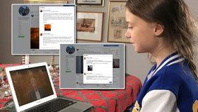 """""""Příspěvky si píšu sama"""" vysvětluje Greta (17). Chyba facebooku ale ukázala na tátu"""