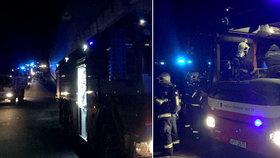 Vlak začal hořet v Ejpovickém tunelu: Desítky hasičů i evakuovaných!