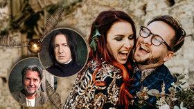 Nejkouzelnější svatba Česka: Adam (29) a Andrea (30) měli obřad jako z Harryho Pottera