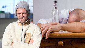 Frontman kapely Nebe po odvykačce: Alkohol držím pod krkem, stejně jako on drží mě! A podpořím »Suchej únor«