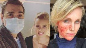 Na plac i s antibiotiky! Kteří herci zažívali muka při natáčení a kdo má doma totální chaos?