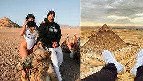 """Youtuber vylezl na pyramidu v Gíze: Zavřeli ho! """"Tohle bych nikomu nepřál,"""" popsal kriminál"""