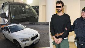 Střelec z BMW je prý pražský podnikatel: Michal V. není policii zcela neznámý