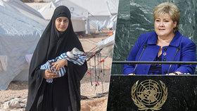 Kvůli návratu nevěsty ISIS může padnout vláda, vyhrožuje koaliční strana v Norsku