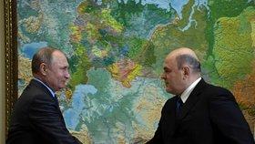 Po Johnsonovi další nakažený premiér. Koronavirus chytil ruský předseda vládyMišustin