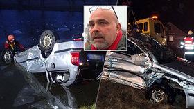 Pavel se sousedem zachránili životy třem lidem. Jejich auto skončilo v ledové vodě