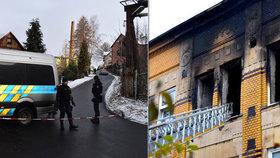 Tragédie ve Vejprtech: Policista-hrdina vytáhnul z ohně 10 lidí! Sám se nadýchal kouře